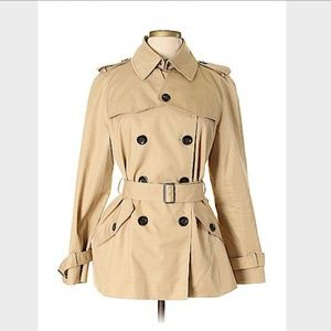 COACH - Solid Tan Raincoat - Size L